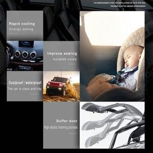 Image 4 - Araba Styling kapı contası gezileri gövde ses yalıtımı su geçirmez sızdırmazlık araba Styling etiketler evrensel otomobil İç aksesuar