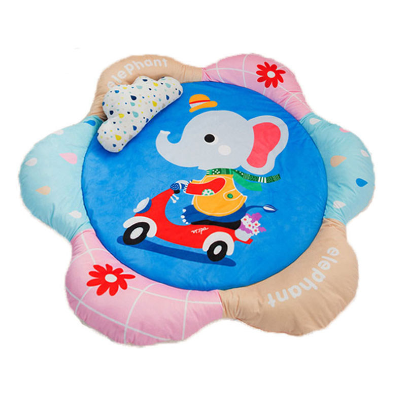Baby Crawling Game Pad Playmat Protective Thickening Cotton Climbing Carpet Room Baby Gym Activity Play Mat Kids Ground Playmat