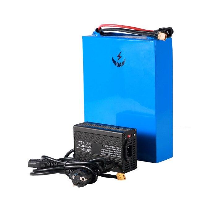 48 V 40Ah e-bike batterie au Lithium 18650 cellule batterie de vélo électrique 48 V 1000 w 1500 w 2500 w batterie de scooter + 70 ampères BMS 5A chargeur