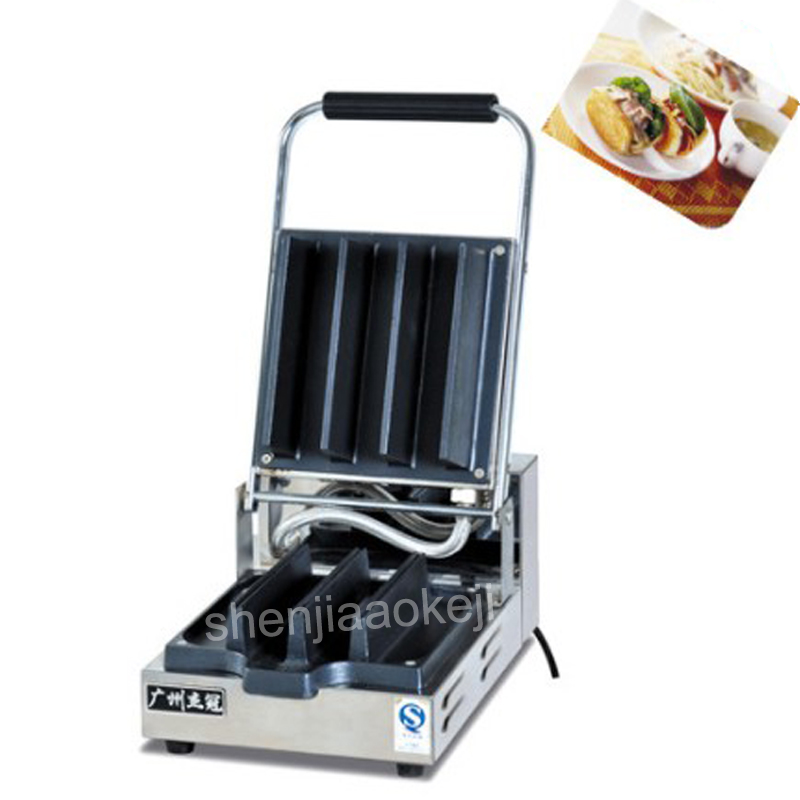 1pc 220V Pastry sandwich maker Stainless Steel Puff pastry machine Western restaurant, cake