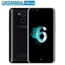 DOOGEE Y6 mobile téléphones 5.5 Pouces HD 2 GB + 16 GB D'empreintes Digitales Android6.0 Double SIM MTK6750 Qcta Core 13.0MP 3200 mAH WCDMA LTE GSM GPS