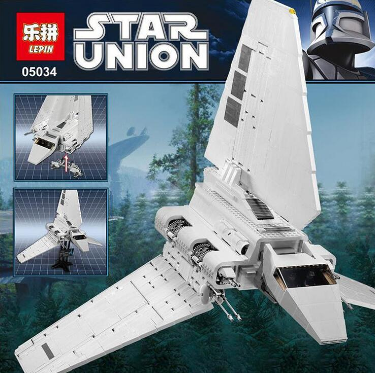LEPIN 05034 2503Pcs Star Wars Rogue One Imperial Shuttle Model Building Kit Blocks Bricks Compatible With Lepin Children Toy gipfel indigent 2503