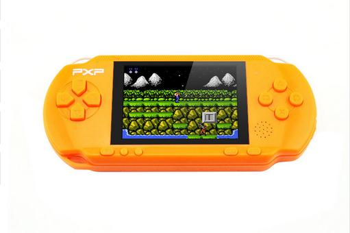Hot sale! Funny 3 Inch PXP3 8 Bit Build In 999999 Classic Games Portable Pocket Handheld Gaming System Console AV Output Game Pl