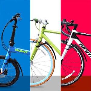 Image 2 - 새로운 특허 700*23 25c 자전거 흙 가드 자전거 도로 자전거 14 16 20 인치 접이식 자전거 진흙 가드 초경량