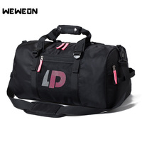 Portable Women Yoga Training Gym Bag Men Outdoor Waterproof Sport Bags Dry Wet Separated Fitness Gym