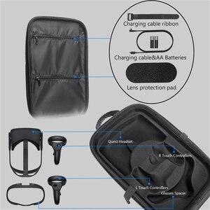Image 5 - EVA boîtier de rangement pour Oculus Quest réalité virtuelle VR lunettes et accessoires étanche sac de protection housse de transport