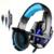 Kotion each g9000 ps4 ps4 gaming headset auriculares gaming headset de auriculares con micrófono para el ordenador portátil teléfono playstation 4 unid