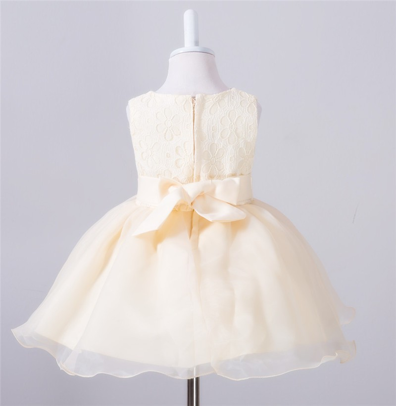 Baby Christening Bow Dress (14)
