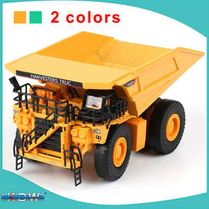 KDW model car metal dump truck kid boy toys collection