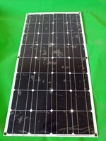 Advanced production process, the Chinese factory made 100w semi flexible solar panel, are selling