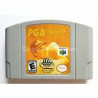 Nintendo N64 Game PGA European Tour Video Game Cartridge Console Card English Language US Version