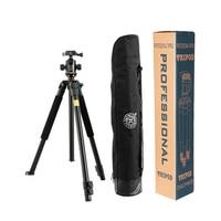 Hot Sale Q360 Professional SLR Aluminum Photographic Tripods Portable Travel Digital Tripod With Ball Head For Canon Nikon Sony