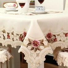 European garden table cloth fabric seat cover cushion set gift Xin Tong 218