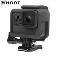 Защитный чехол-рамка для GoPro Hero 7 6 5, черный чехол для экшн-камеры, крепление корпуса для Go pro Hero 7 6 5, аксессуары
