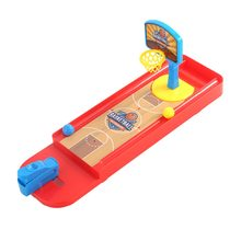 Funny Mini Desktop Ejection Basketball Games Table Hockey for Children Contest Assembled Finger Gifts Football Golf Shooting(China)