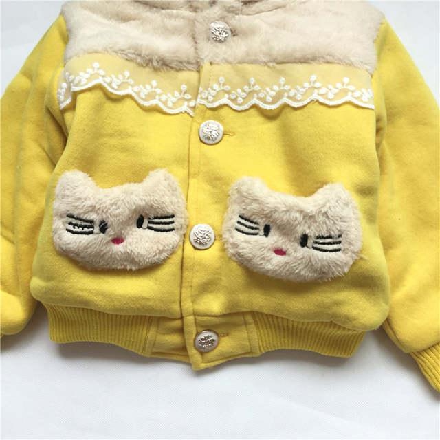 0a03524e28e3 Online Shop Baby Girls Coat Newborn Baby Girls Winter Jacket Hooded ...