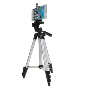 Image 4 - Mini soporte de trípode para cámara 3110, trípode telescópico profesional de aluminio, monopié para iPhone, Samsung, cámara de acción para teléfono inteligente