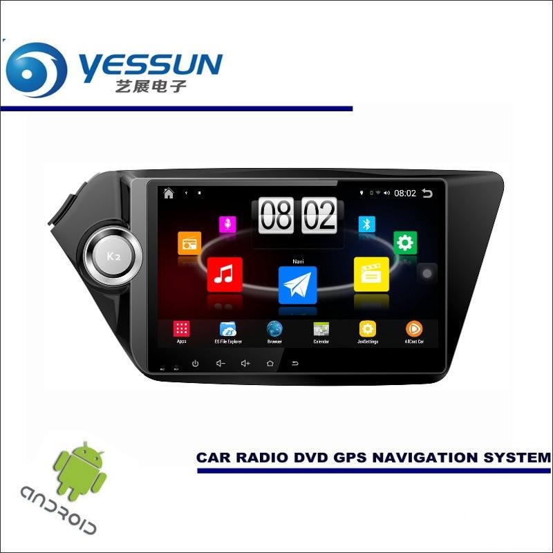 Yessun автомобиля Android мультимедийный плеер для KIA K2/pride/Rio 2011 ~ 2016 Радио стерео GPS Географические карты nav navi (без CD DVD) 9 HD Экран
