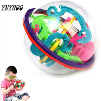 Hot 3D Magic Intellect Maze Ball Toys Kids Children Balance Logic Ability Puzzle Game Educational Training