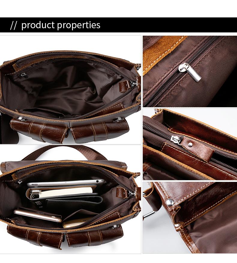 luckyer красоты дизайнеры бренд новое постулат для мужчин мужская сумка из естественно яловой кожи сумки винтаж ретро сумка для мужчин