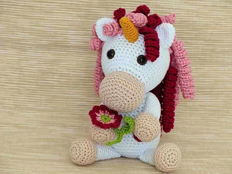 Unicórnio bicho bola Amigurumi no Elo7 | Grochet por Fernanda ... | 596x794