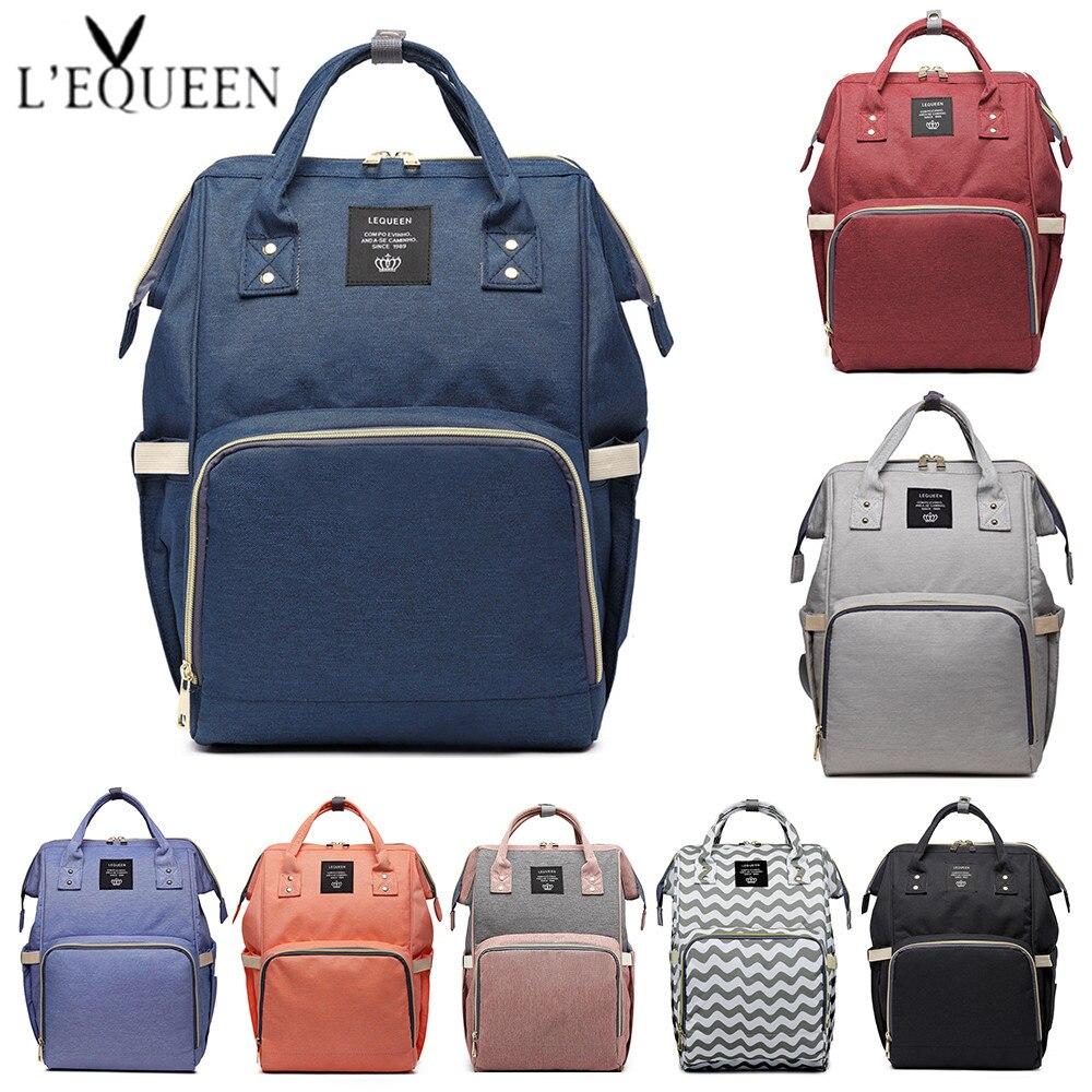 dca4cb9935be6 Marka Tasarımcı Moda Mumya Annelik Bez Torba Büyük Kapasiteli Bebek Bezi  Çantası seyahat sırt çantası Hemşirelik