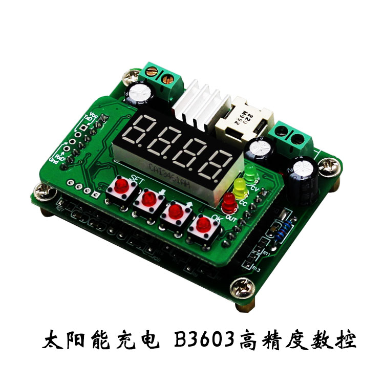 Solar charging B3603 high precision CNC DC-DC constant pressure and constant current buck module LED driver (D2B3) haitai b 600 digital high precision automatic constant tension controller for printing and textile