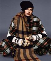 Bán buôn Vintage Scotland college Kẻ Sọc vải len coat áo len Quá Trình vải tweed lông cừu người phụ nữ sang trọng vải chắp vá C374