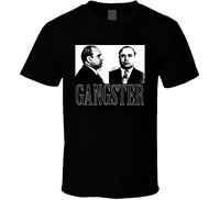 T Shirts Top O Neck Short Sleeve T Shirt Bandit Al Capone Chicago Mobster Gangster Mafia