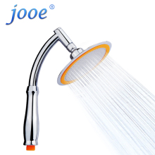 jooe rainfall shower head round Chrome water saving showerhead high pressure bathroom ducha chuveiros pomme de douche je044