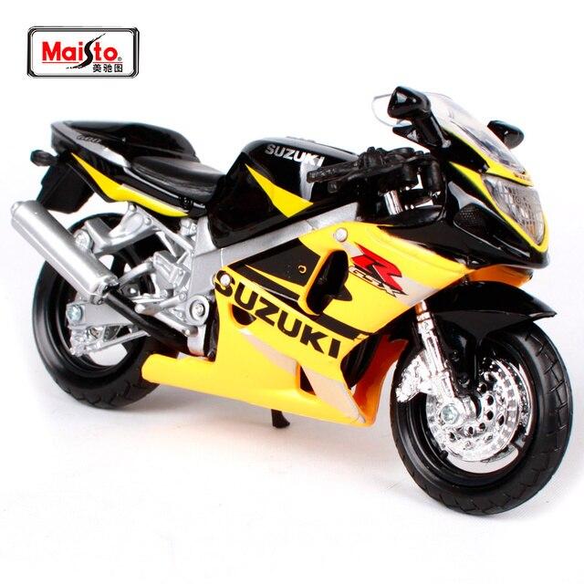 Maisto 1 18 Suzuki Gsx R600 Motorcycle Bike Diecast Model Toy New In