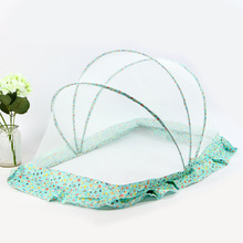 Magic Mosquito Net Children's Folding Baby Kid Mosquito Nets Free Installation Crib Single Support Mosquito Nets Home Textile elegant hung dome mosquito nets for summer polyester mesh fabric home textile wholesale bulk accessories supplies products