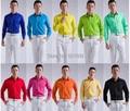Doce cor de homens de smoking camisas