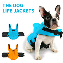 Dog Life Vest Summer Shark Pet Life Jacket For Small Medium Large Dog Safety Clothes Dogs Swimwear Pets Safety Swimming Suit(China)