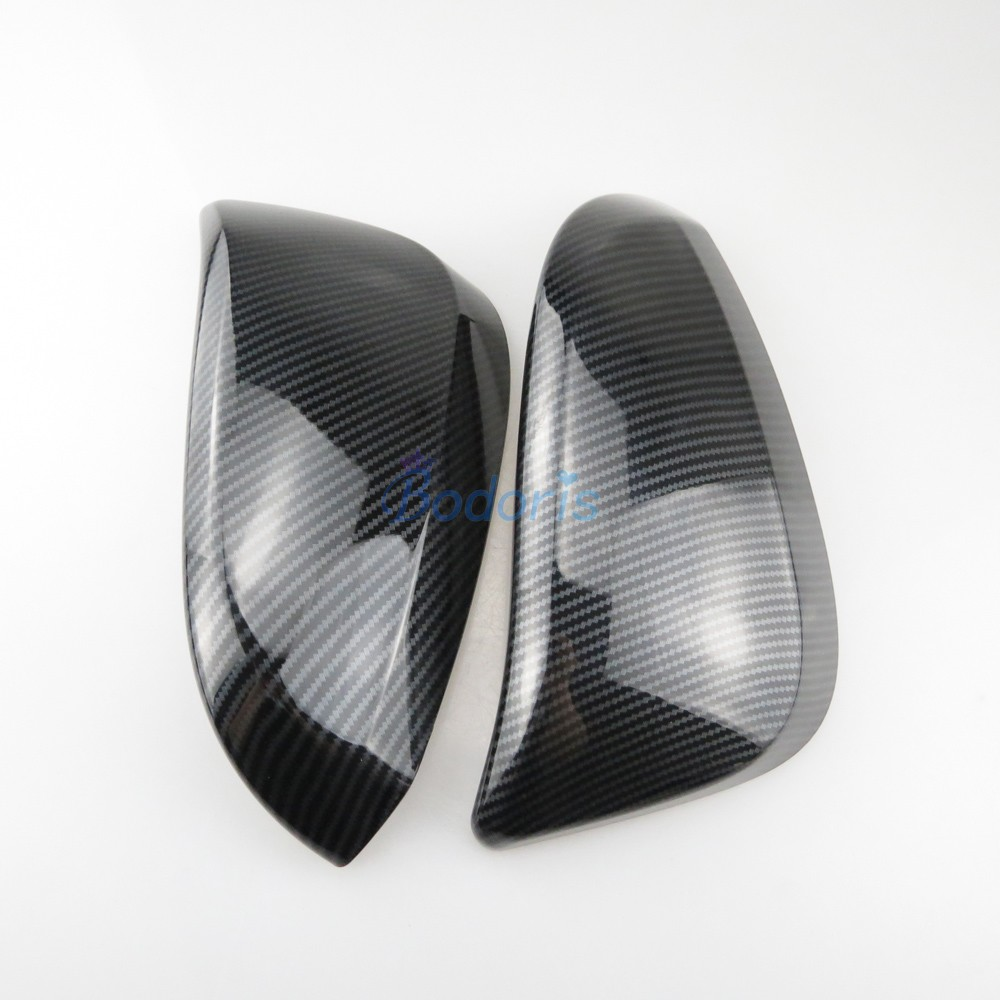 For Mazda6 M6 2009-2012 Car Rearview Mirror Cap Side Door Mirror Protector Cover Trim ABS Chrome 2PCS//SET