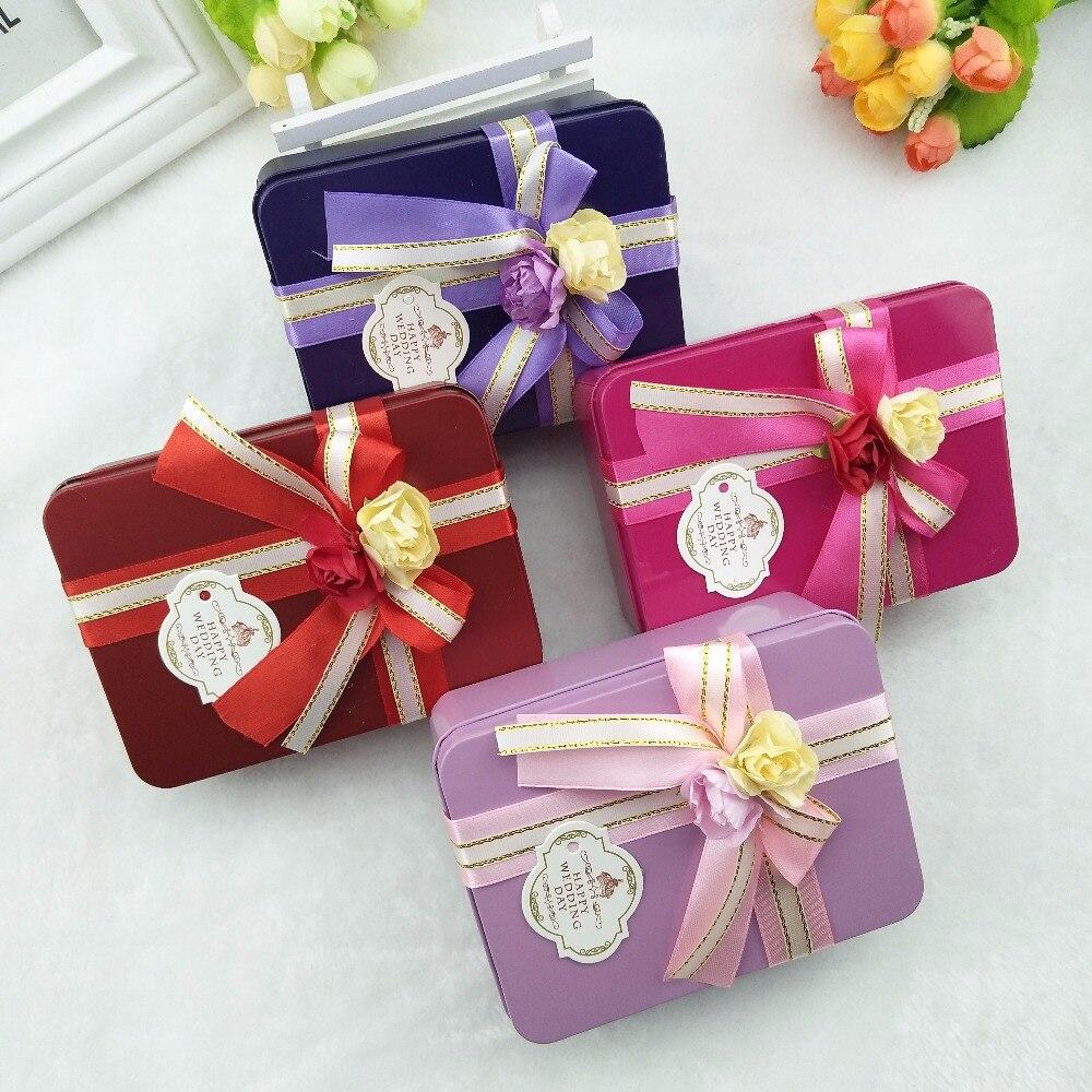 Прямоугольные Утюг Hi коробка конфет подарок мини хранения небольшая коробка конфет гладить коробки шоколада Dove Творческий сердце конфеты ...