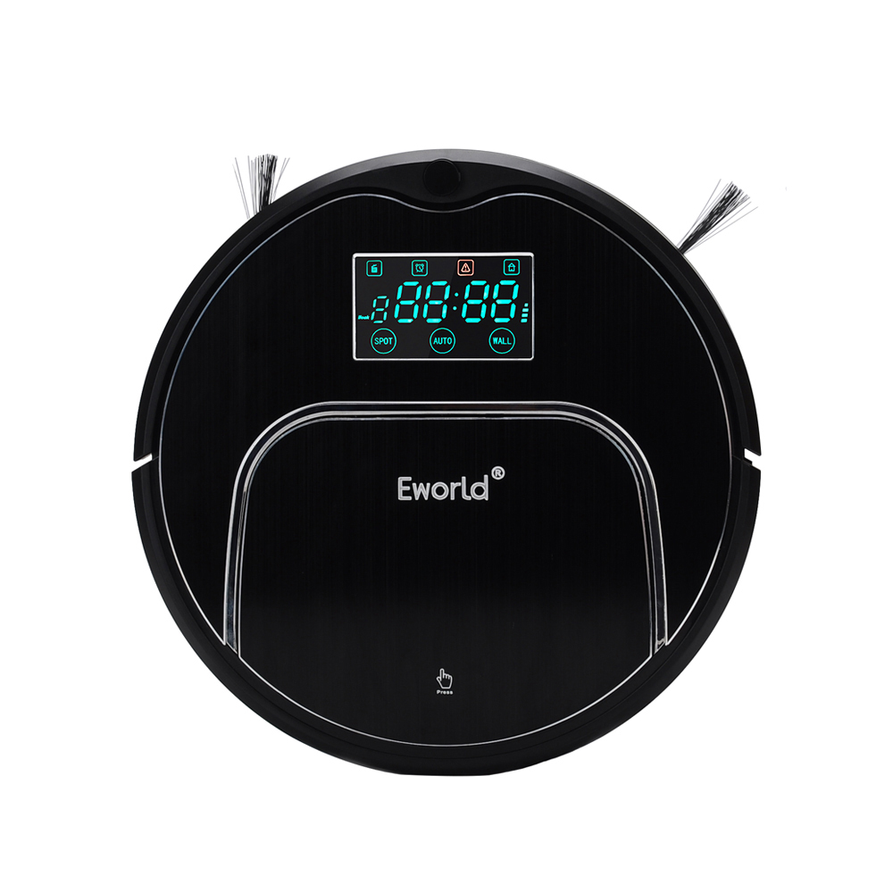 (Free to Europe) Eworld M883 Automatic Robotic Vacuum Cleaner for Home with LCD Remote Control, Bigger Dust box fundamentals for control of robotic manipulators