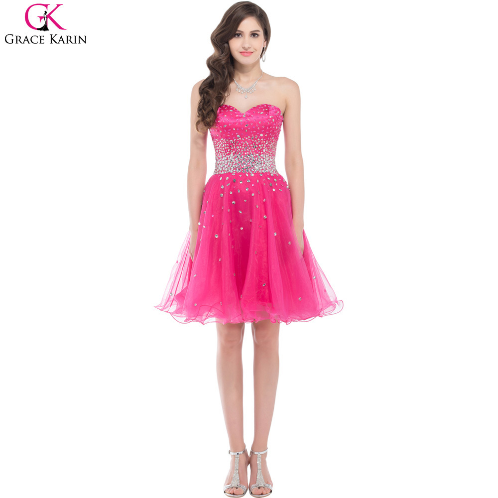 Online get cheap light pink prom dresses aliexpresscom for Pink homecoming dresses
