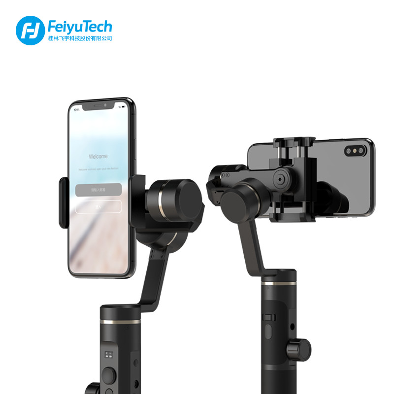 FeiyuTech Feiyu SPG2 3-Axis Handheld Stabilizer Gimbal for Smartphone action camera iphone XS X Max 7 8 6 Gopro 7 PK DJI osmo feiyutech feiyu spg gimbal 3 axis splash proof handheld gimbal stabilizer for iphone x 8 7 6 plus smartphone gopro action camera