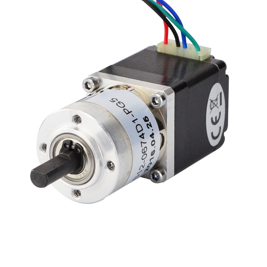 4-Lead Nema 11 Geared Stepper Motor Gear ratio 5.18:1 With Planetary Gearbox 0.67A 3D Printer CNC Robot gear ratio 3 1 5 1 8 1 nema42 planetary gearbox for nema 42 geared stepper motor 230n m 31944oz in rated load