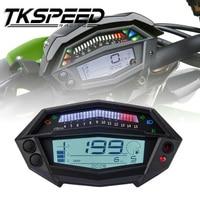 FREE SHIPPING Motorcycle tachometer hour meter digital speedometer gear indicator motorcycle parts for kawasaki Z1000