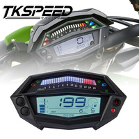 FREE SHIPPING Motorcycle tachometer hour meter digital speedometer gear indicator motorcycle parts for kawasaki Z1000