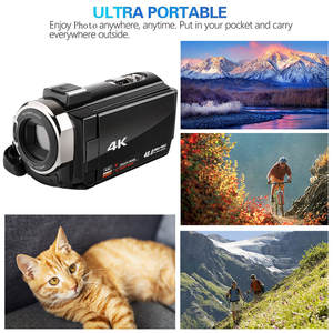 Video DV Camera 4K Ultra HD WIFI LCD HD 1920P 48MP 16X Digital Zoom Camcorder Infrared night 22W pixels pro Camcorder