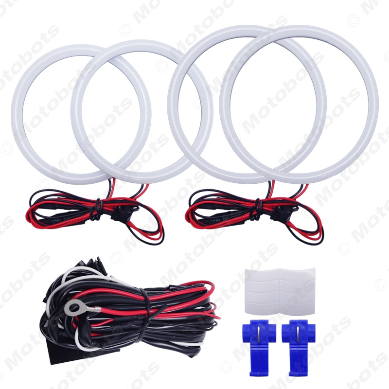 aliexpress com : buy feeldo 1set auto halo rings cotton lights smd led  angel eyes for ford focus 05+ drl 4 color #am3667 from reliable halo ring  suppliers