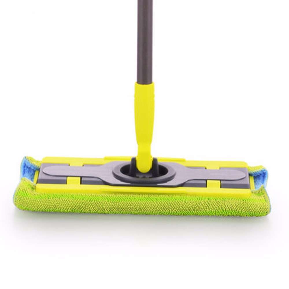 Magic Mop Microfiber Floor telescopic mop with pole microfiber cloth <font><b>towel</b></font> home kitchen living room cleaning tools 2Cotton head