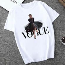 Vogue T Shirt Letter