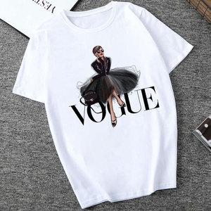 CZCCWD Camisetas Verano Mujer 2019 Thin Section T Shirt Vogue Letter Harajuku Female T-shirt Leisure Fashion Aesthetic Tshirt(China)