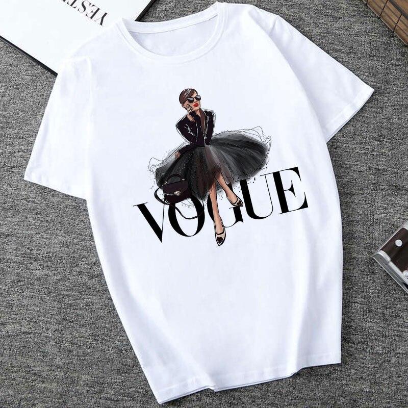 Футболка женская CZCCWD, тонкая футболка с буквенным принтом в стиле Харадзюку, 2019|Футболки|Женская одежда - AliExpress