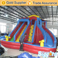 Inflatable Biggors Commercial Bouncy Water Slide With Pool For Sale Shipping by Sea