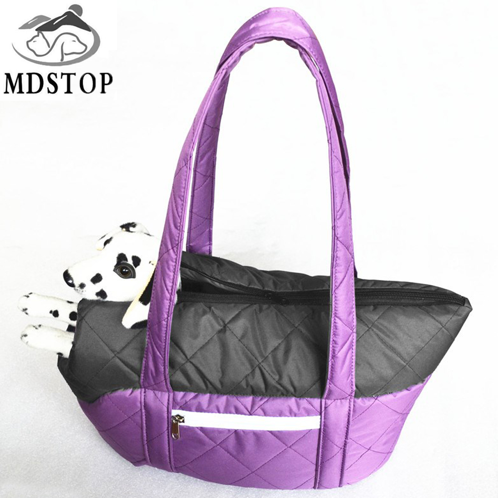 MDSTOP chihuahua pet Borsa da viaggio per cane Cat Carrier Winter Warm Comfort Travel Borsa da spalla donna Tote Sling Pack per cani